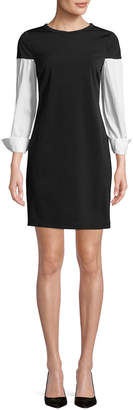 Supply & Demand SUPPLY + DEMAND Lindy Contrast Sleeve Shift Dress