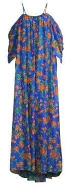 Caroline Constas Delphi Floral Maxi Dress