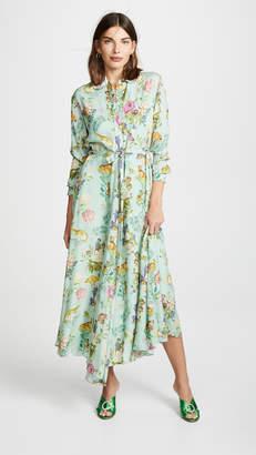 Vilshenko Holly Silk Shirt Dress