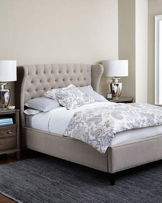 Horchow Georgette Queen Bed