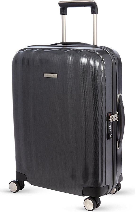 SamsoniteSamsonite Lite-Cube four-wheel spinner suitcase 55cm