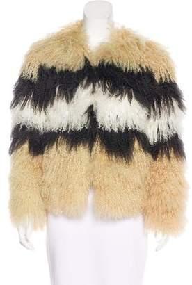 Pam & Gela Lamb Casual Jacket
