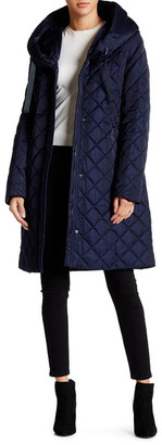 Tahari Casey Quilted Coat $240 thestylecure.com