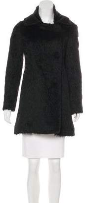 Chloé Knee-Length Alpaca Coat