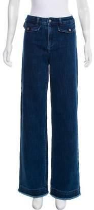 Rebecca Minkoff Mid-Rise Wide-Leg Jeans