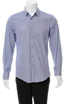 Gucci Abstract-Patterned Button-Up Shirt