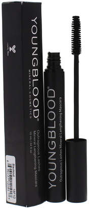 Young Blood Youngblood 0.34Oz Blackout Outrageous Lashes Mineral Lengthening Mascara