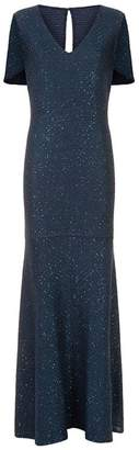 St. John Woven Sequin Gown