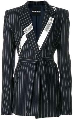 House of Holland pinstripe tailored blazer