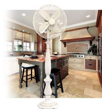 "Darby Home Co Sharri 16"" Oscillating Floor Fan Darby Home Co"