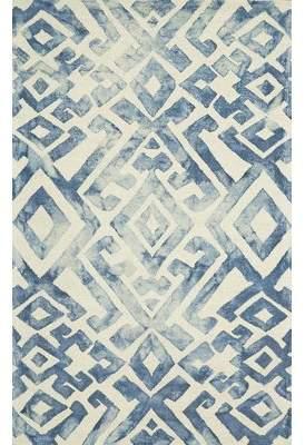 Blue Area Feizy Milton Royal Rug