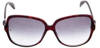 Giorgio Armani Oversize Tinted Sunglasses