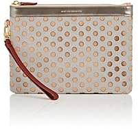 WANT Les Essentiels Women's Barajas Perforated Folio-Beige, Tan