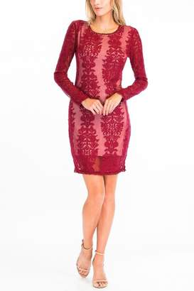 55b2f0634c at Shoptiques · Olivaceous Sheer Lace Bodycon