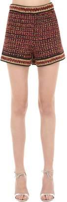 M Missoni Lurex & Tweed Shorts