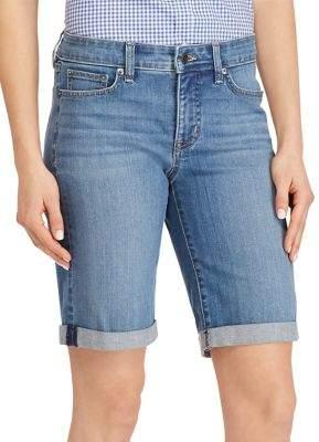 Lauren Ralph Lauren Petite Superstretch Denim Shorts