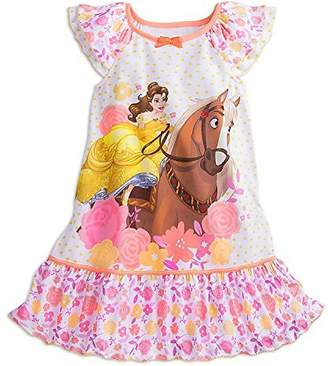 Disney Belle and Philippe Nightshirt for Girls Size 5/6