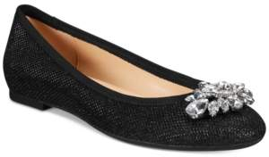 Badgley Mischka Cabella Evening Flats Women's Shoes