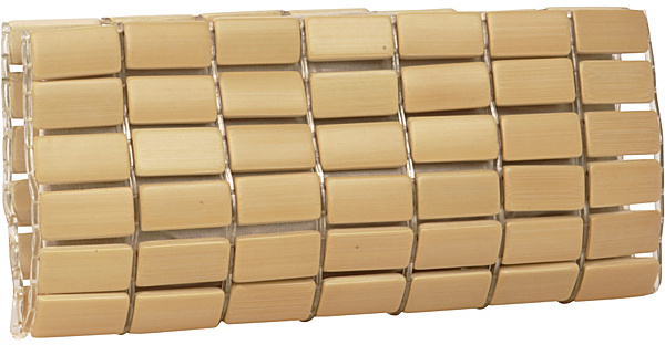 Raw Bags Bamboo Cube Clutch