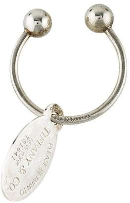 Tiffany & Co. Sterling Keyring