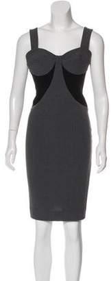Black Halo Sleeveless Casual Dress