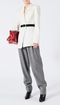 Tibi Quilted Combo Oversized Blazer