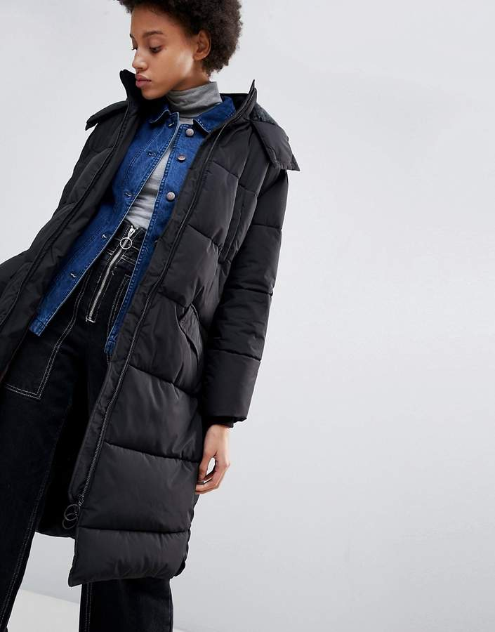 Parka London Amelia Long Quilted Coat