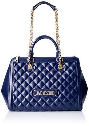 Love Moschino Women's Quilted Nappa Pu Shoulder Bag