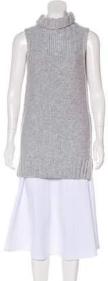 f91ce62e6130de Calvin Klein Collection Sleeveless Cashmere Turtleneck
