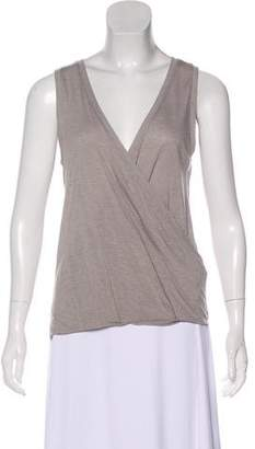 AllSaints Wool-Blend Sleeveless T-Shirt