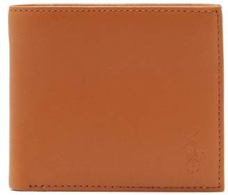 Polo Ralph Lauren Bi Fold Leather Wallet - Mens - Camel