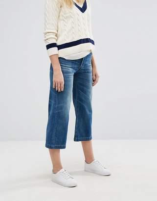 Polo Ralph Lauren High Waist Crop Wide Leg Jean