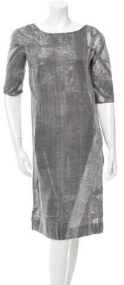 Marni Three-Quarter Sleeve Dresss w/ Tags
