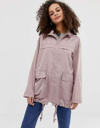 Asos Design DESIGN pac a mac jacket