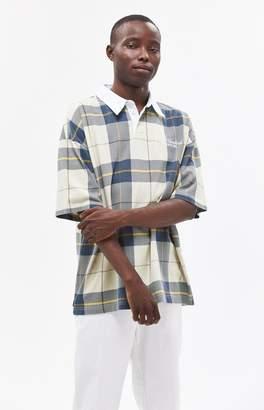The Hundreds Bay Plaid Polo Shirt