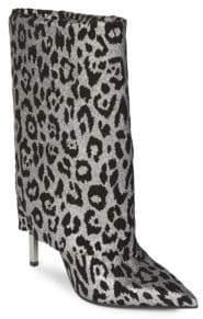 Balmain Babette Leopard Booties