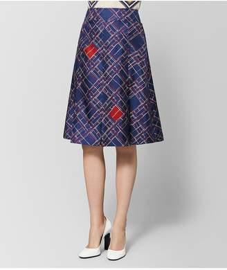 Bottega Veneta Multicolor Silk Skirt