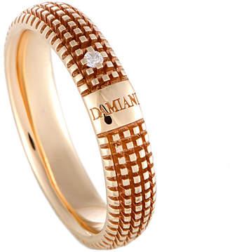 Damiani 18K Rose Gold Diamond Ring
