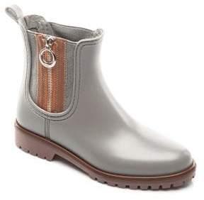 Bernardo Zip Rubber Rain Boots