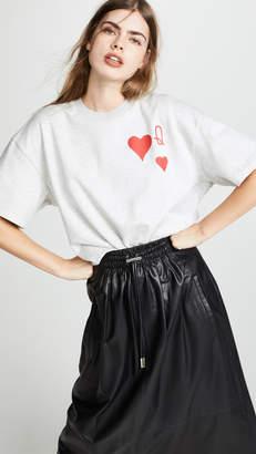 Vika Gazinskaya Heart Print Sweatshirt