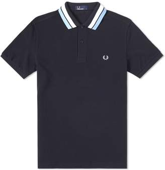 Fred Perry Authentic Bold Tipped Pique Polo
