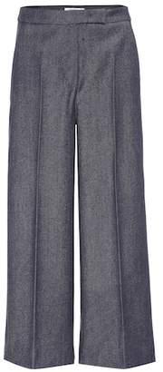 Max Mara Revere cropped wide-leg pants