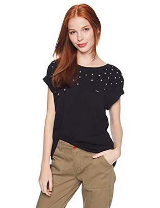 RVCA Junior's Stargaze Short Sleeve Pocket T-Shirt