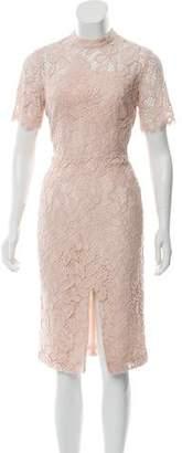 Alexis Guipure Lace Midi Dress