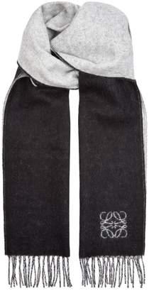 Loewe Wool Anagram Scarf