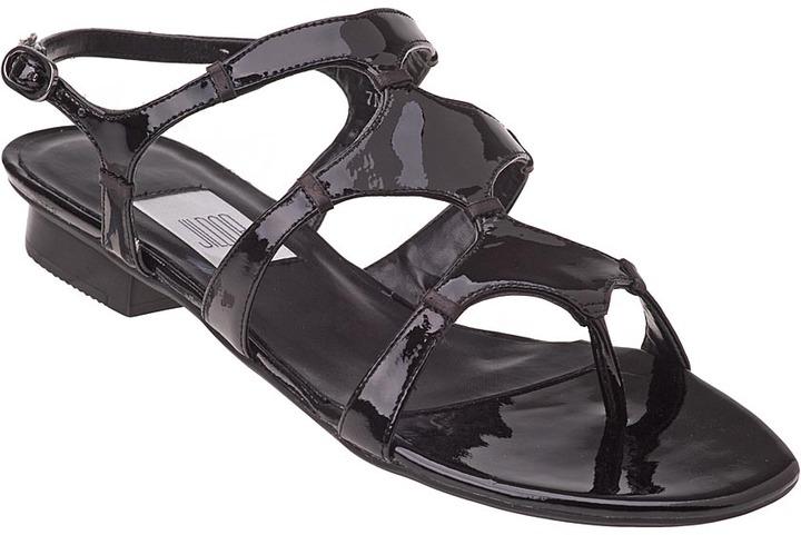 VANELi FOR JILDOR Bradwen Sandal Black Patent