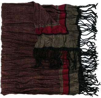 Antony Morato Junior fringe-trimmed scarf