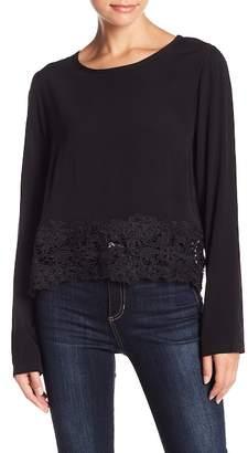 Muche et Muchette Aliz Crochet Lace Hem Top