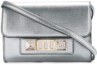 Proenza Schouler Metallic PS11 Wallet with Strap