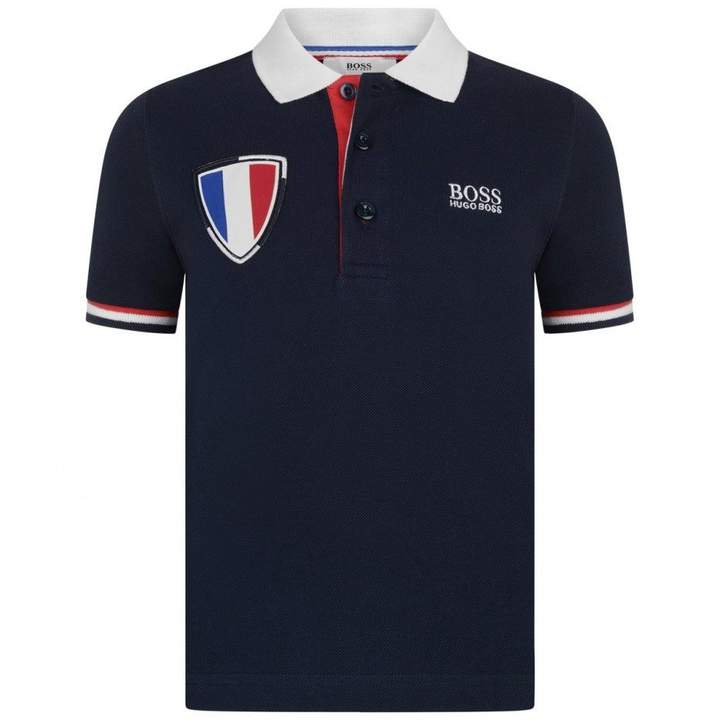 BOSS KidsBoys Special Edition World Cup France Polo Top
